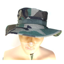 Tactische Bonnie Hoeden Militaire Caps mannen Emmer Hoed Camouflage Gorras Hunter Fisher Man Zonneklep Caps Echte CS Hoed(China)