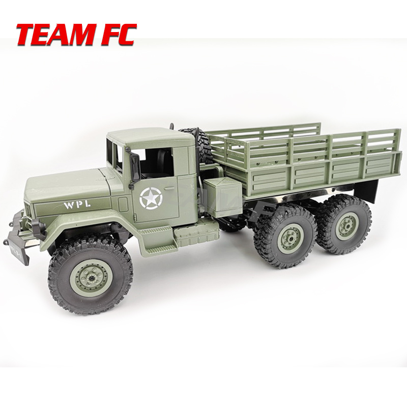 WPL B16 1:16 RC Truck WPL RC Crawler Car 6WD 2.4G Mini Off-Road Remote Control Car 15km/H Top Speed Mini RC Monster Truck F179