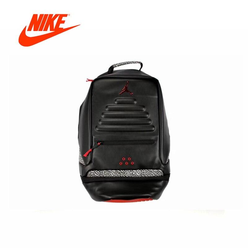 Original New Arrival Authentic Nike Air Jordan 12 AJ12 Black Gold Backpacks  Mens   Womens Shoulder ... 88bc5d6defa7c