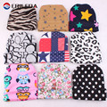 Newborn Baby Hats Printing Knitted Infant Beanie Hats Leopard Dot Star Letter Cartoon Floral Baby Caps For Boy Girl 0-3 Months