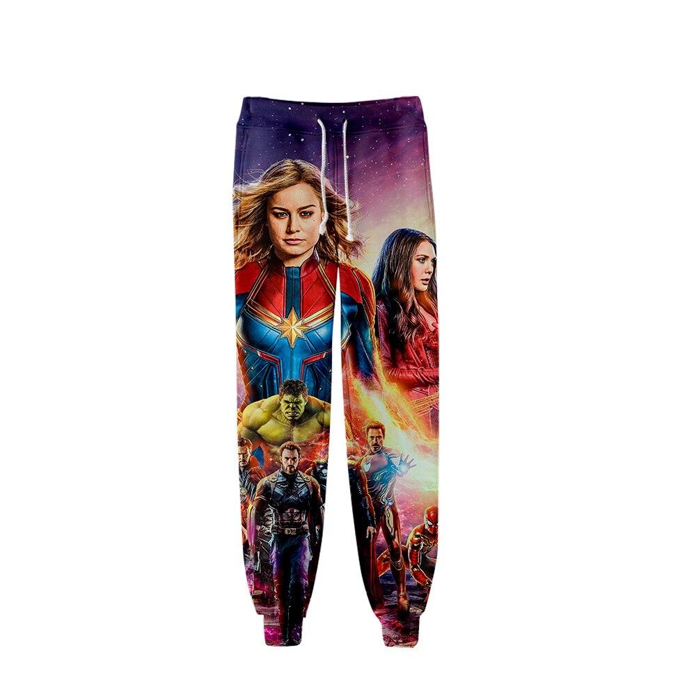Avengers Endgame Quantum Realm Man outwear  Advanced Tech Long Pant Cosplay halloween costume new superhero Iron Man trousers