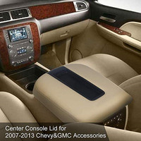 Center Console Lid Armrest Kit Cover Compatible for Chevy Avalanche Silverado Tahoe Suburban GMC Yukon Yukon XL Sierra Replaces