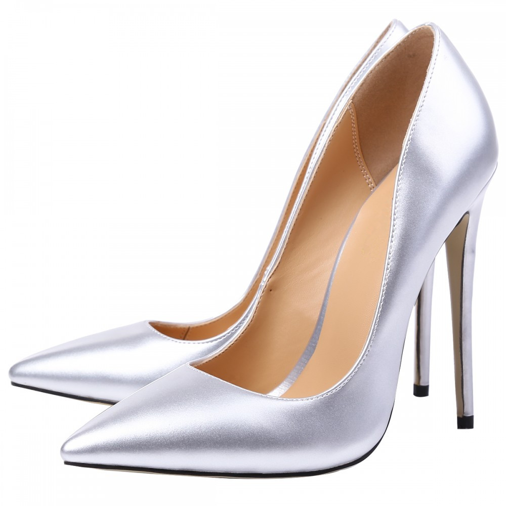THEMOST 2017 New Fashion Shoes woman Pointed Toe Pumps Big Size 34-48 Spring Good quality Thin heel Handmade Wedding Shoes plus big size 34 47 shoes woman 2017 new arrival wedding ladies high heel fashion sweet dress pointed toe women pumps a 3