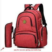Детские коляски Изменение пеленки рюкзак, детские сумки для женщин Путешествия мать сумка-Органайзер подгузник рюкзак