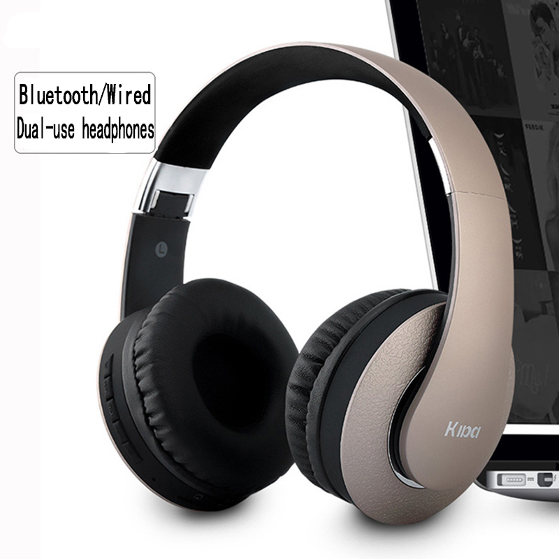 2018 New Wireless Bluetooth Headset 4.0 Computer Headset Mini Folding Earphone with Microphone Support Pluggable TF Card Radio new dacom carkit mini bluetooth headset wireless earphone mic with usb car charger for iphone airpods android huawei smartphone