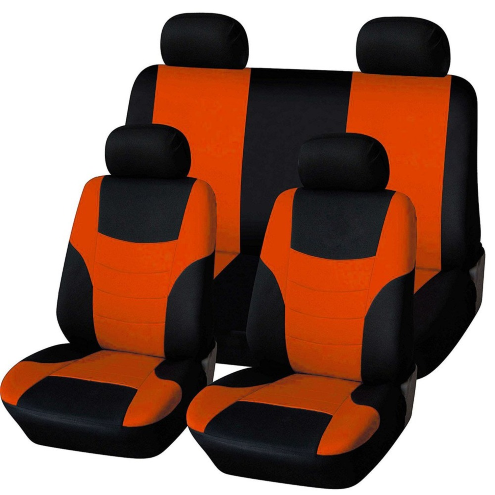 Universal Car Seat Cushions Breathable Car Seat Covers Pads Head Rest Covers