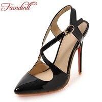 New 2018 Summer Gladiator Sandals Fashion Women Sandals Platform Thin High Heels Luxury Brand Design Cross