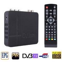 DVB T2 Tuner MPEG4 DVB T2 HD set top box TV Receiver W / RCA / HDMI PAL / NTSC Compatible Box Conversion RUSSIA / EUROPA / THAIL