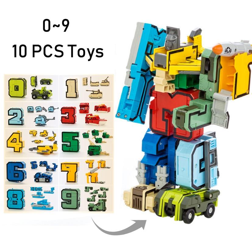 15pcs Building BlocksTransformation Robot 5