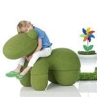 U BEST America Hot Sale Kids Furniture Horse Chair Pony Chair,entertaining modern leisure fiberglass armless pony chair for kids