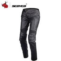 SCOYCO Motorcycle Pants Women Motocross Pants Summer Pantalon Moto Riding Trousers Moto Pants With Knee Protective Gear