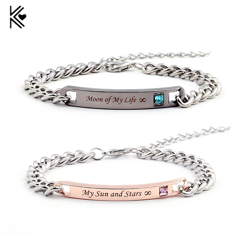 New Arrival Game of Thrones Bracelet Moon of My Life, My Sun and Stars Sun and Moon Couple bracelets Fashion Bracelet & Bangle