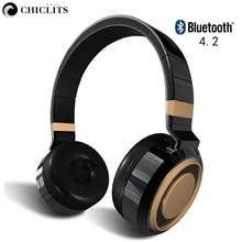 Chiclits TF Card Bezdrátové Bluetooth 4.2 Sluchátka Aktivní potlačení šumu Sluchátka pro sluchátka Sluchátka pro sluchátka Stereo