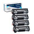 LCL CF283A 83A 83 CF283 283A CF 283 (4-pack) черный 1500 страниц Картридж Совместимый для HP LaserJet Pro МФУ M127fn/fw