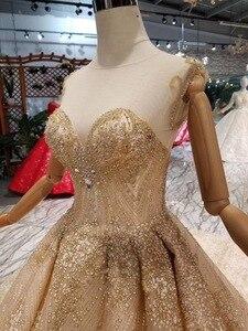 Image 2 - 럭셔리 크리스탈 소녀 debutante 15 년 드레스 vestidos 파라 15 anos 달콤한 16 생일 공 가운 샴페인 quinceanera 드레스