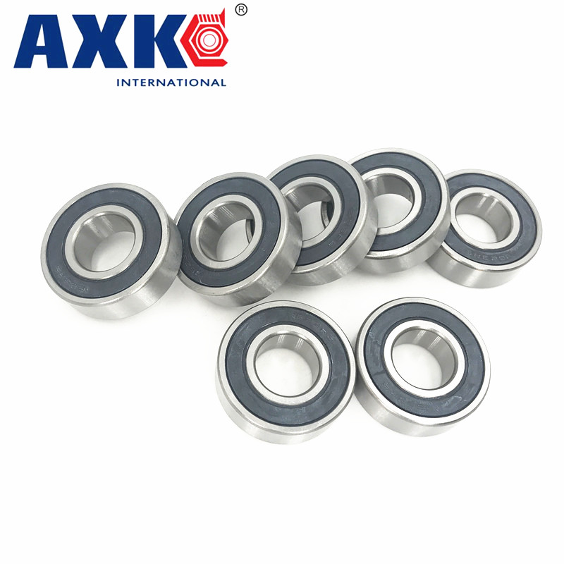 6008rs Bearing Abec-3 (2 Pcs) 40*68*15 Mm Deep Groove 6008-2rs Ball Bearings 6008rz 180108 Rz Rs 6008 2rs Emq Quality 6312rs bearing abec 3 1 pcs 60 130 31 mm deep groove 6312 2rs ball bearings 6312rz 180312 rz rs 6312 2rs emq quality
