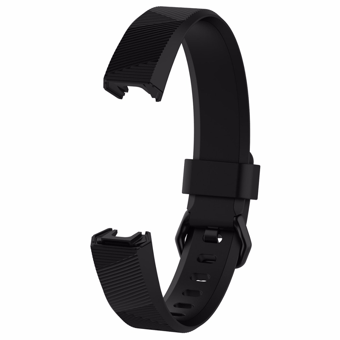 Durable Smartband Replacement Wristband Band Strap Bracelet Soft Silicone Adjusted For Fitbit Alta HR Sport Smart Watch