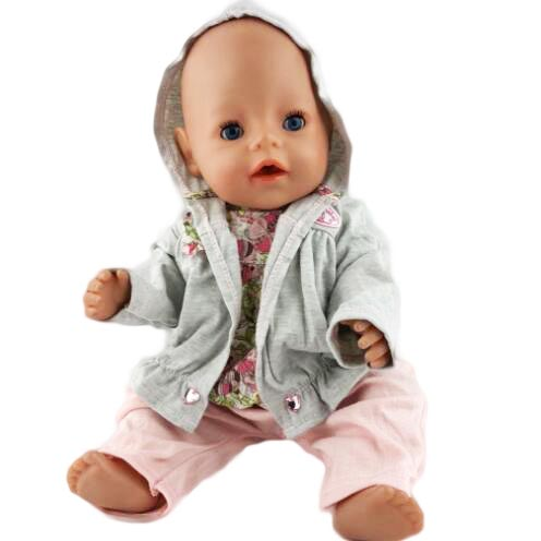New Style Doll Accessories, Doll clothes Wear fit 43cm Baby Born zapf, Children best Birthday Gift(only sell clothes) christmas sweaters pant doll clothes wear fit 43cm baby born zapf 18 american girl doll clothes children best birthday gift