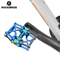 ROCKBROS Bicycle Pedals MTB Bike Pedal Platform Cycling Magnesium Outdoor Sports Multi Color Pedal Bicycle Accessories