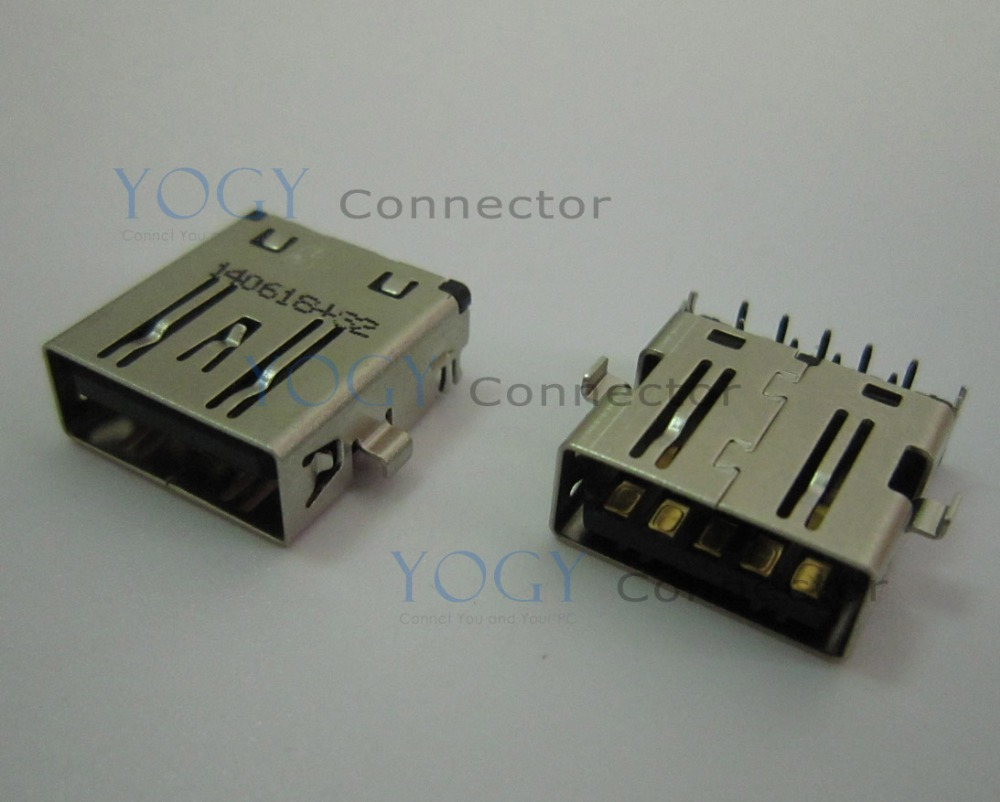 10pcs Female usb3.0 connector fit for HP 13-C Lenovoe Flex 3-1120 80LX Series and other laptop motherboard USB 3.0 port