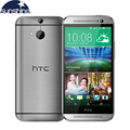 "Original HTC One M8 Mobile Phone 5"" Qualcomm Quad core Smartphone 2G RAM 16GB ROM Refurbished Phones 3 Cameras WCDMA Cell Phone"