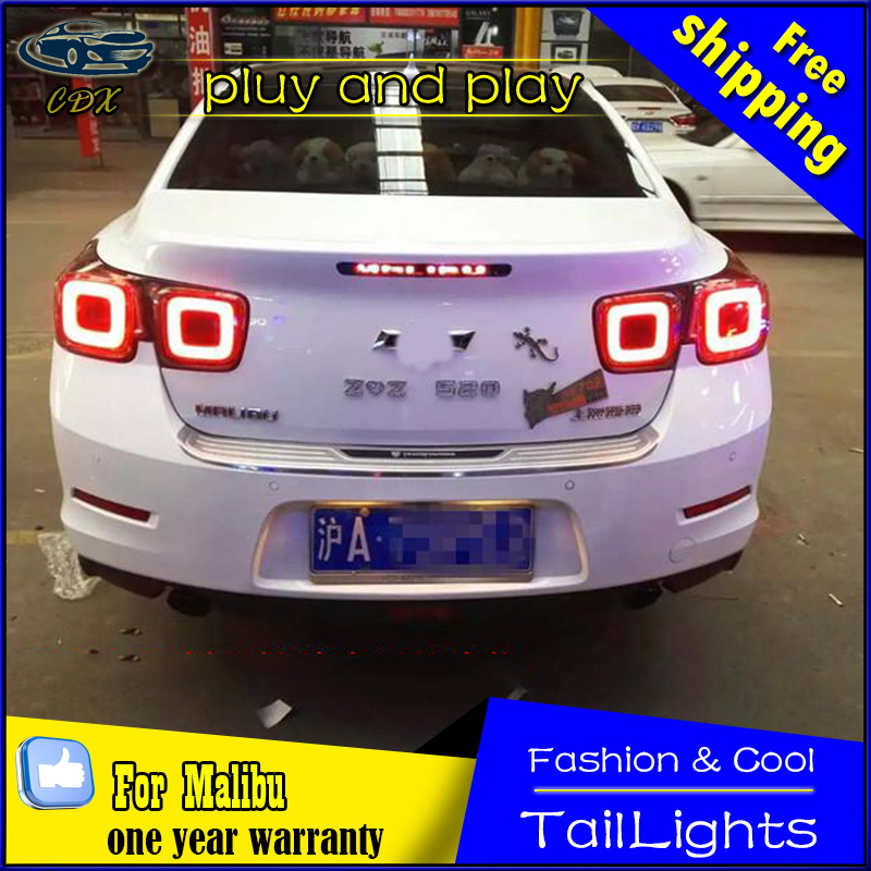 Car Styling LED Tail Lamp For Chevrolet Malibu Tail Lights