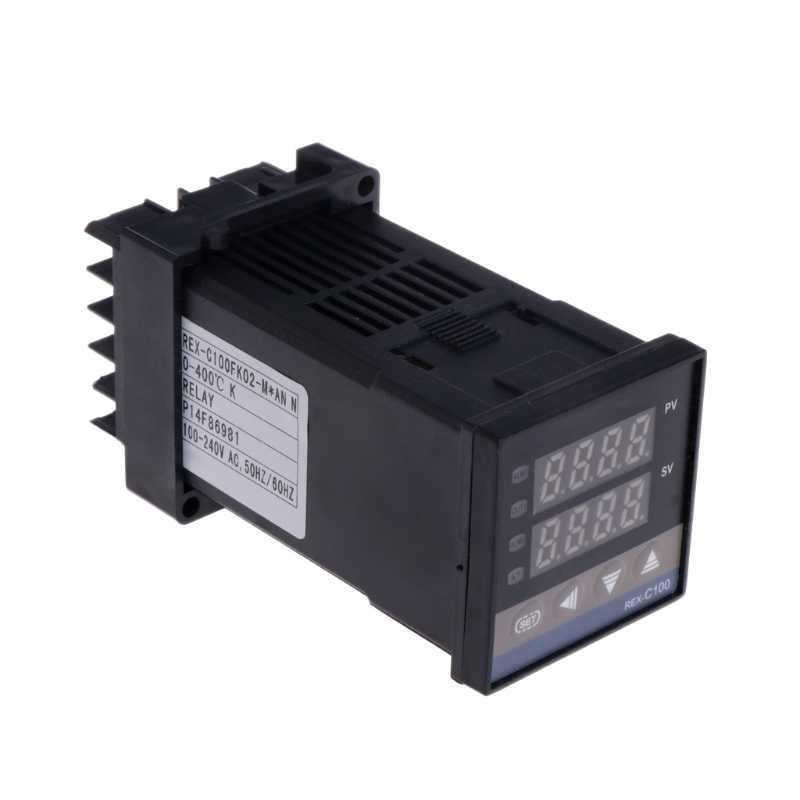 PID Digital Temperature Controller REX-C100(M) 0 To 400C K Type Relay Output #Sep.12