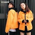 VIISHOW Куртка Мужчины Повседневная Твердые Моды для Мужчин Любителей Пальто Куртки Пальто Мужчины Случайные Куртки