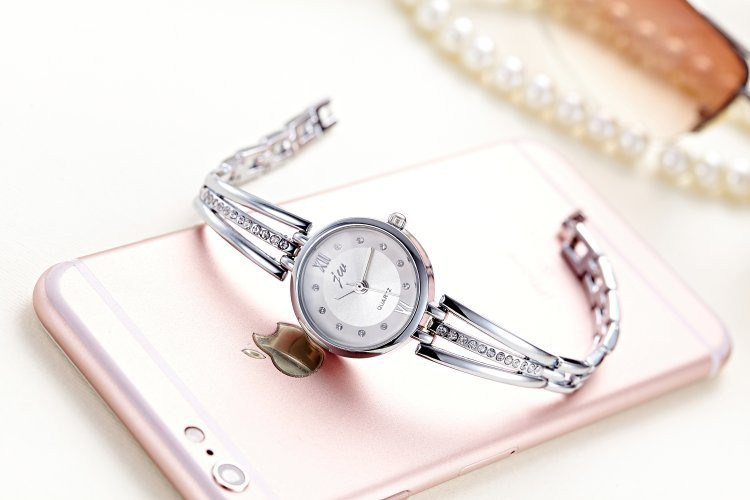 New Fashion Rhinestone Watches Women Luxury Brand Stainless Steel Bracelet watches Ladies Quartz Dress Watches reloj mujer AC070 14