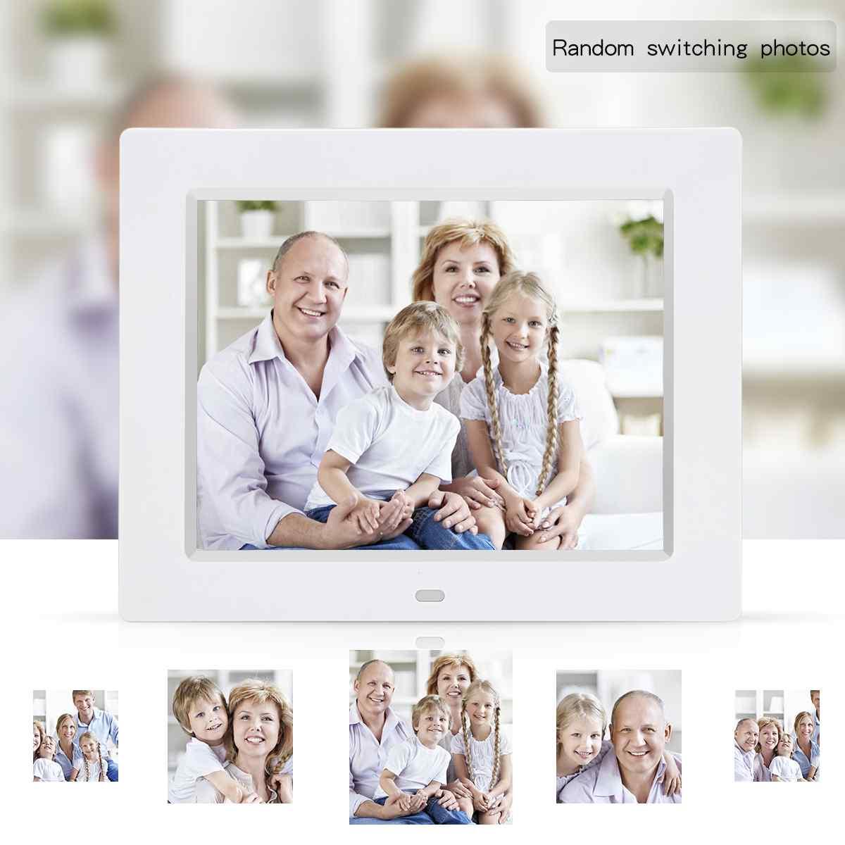 8 zoll digitaler bilderrahmen elektronische kalender ABS ...