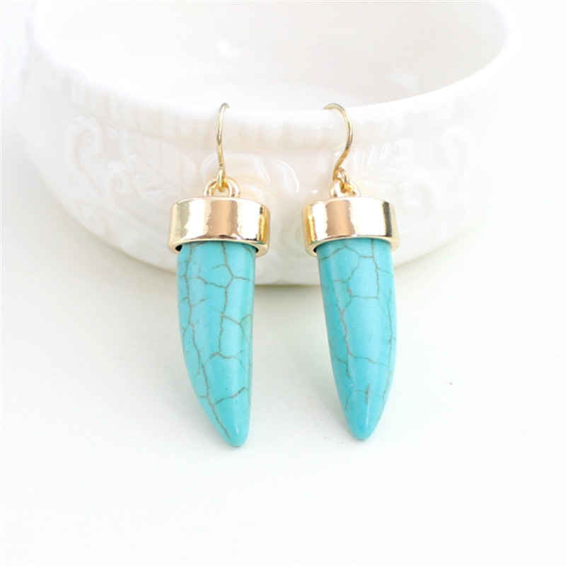 Fashion 2015 free shipping the new inlay golden earringsZinc alloy gold girl gift new fashion lady