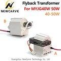 Трансформатор Flyback высокого напряжения 40 Вт 50 Вт для лазерного блока питания CO2 MYJG40W 50 Вт Newcarve