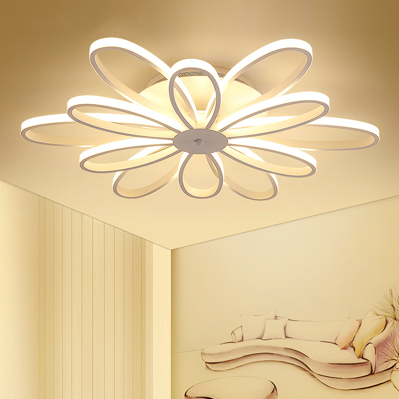 цены на Modern living room Ceiling lamps LED luminaire fixtures bedroom Ceiling lighting Nordic illumination home deco Ceiling lights