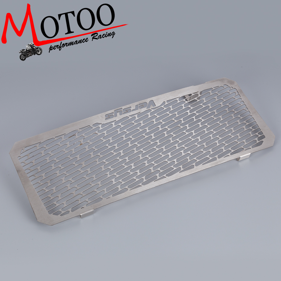Motoo - For Kawasaki VERSYS 650 2015 2016 2017 Motorcycle Accessories Radiator Grille Guard Cover Protector motorcycle radiator grille grill guard cover protector golden for kawasaki zx6r 2009 2010 2011 2012 2013 2014 2015