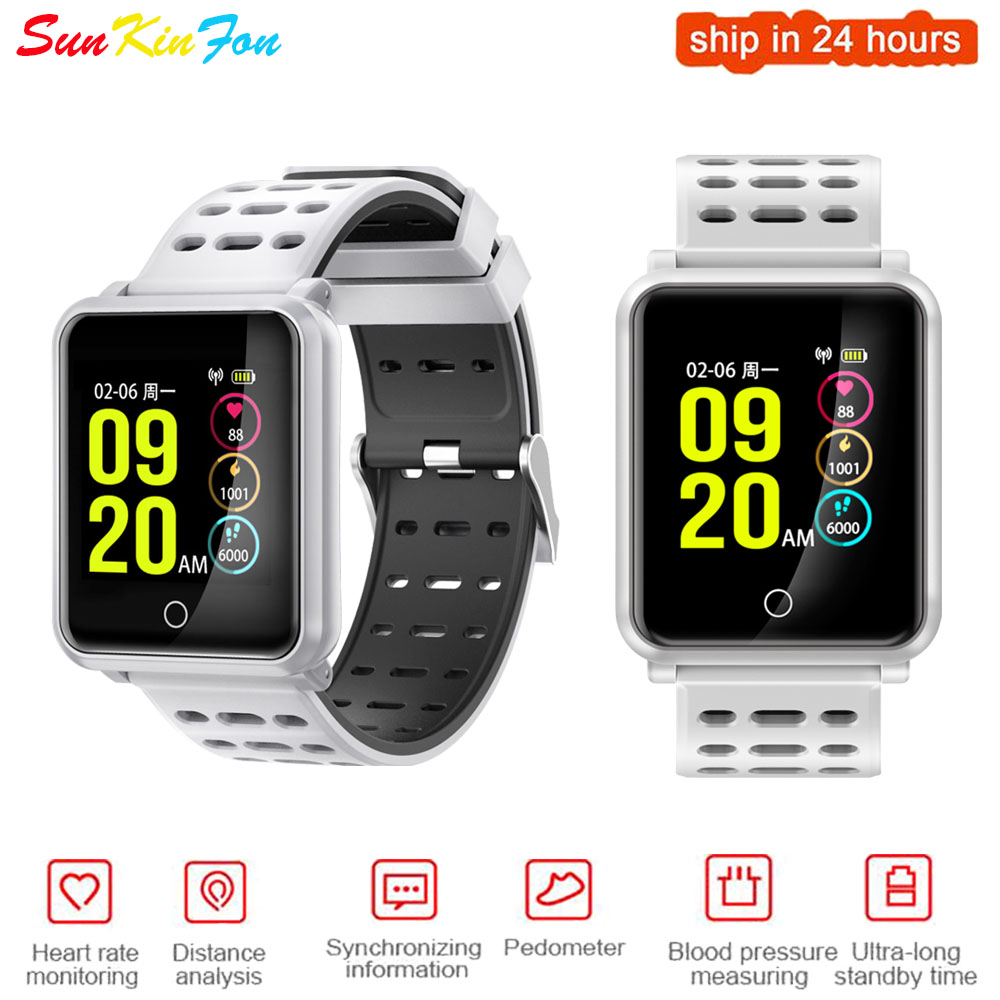 For OPPO R9 Plus R7s Plus <font><b>R7</b></font> Plus Super Definition Large Screen Sports <font><b>Smart</b></font> <font><b>Watch</b></font> Heart Rate Blood Pressure Monitor Smatwatch image