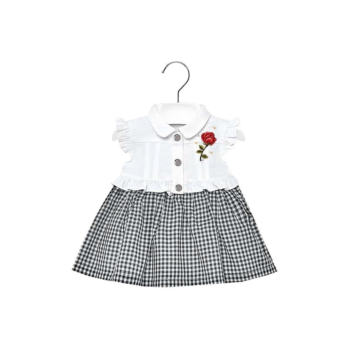 MAYORAL Dresses 10691105 dress for girls baby clothing fashion slim family long sleeve mesh dress for girls