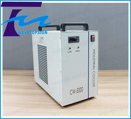 Industrial chiller cw-5000  cw5000 use for co2 laser engraving and cutting machine  good quality! co2 laser cutting machine industry water cooling machine for brazil cw 5000 bg 220v 60hz 100w laser chiller