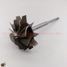 HX40W/peças Da roda da Turbina HX40 Turbo 64mm * 76mm 10blades, fornecedor de Peças de turbo Turbocharger AAA Turbocharger