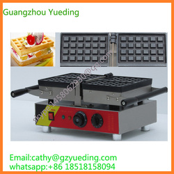 double heads muffin swing waffle maker machine for sale