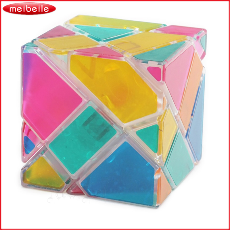 NEW Transparent 3x3x3 Magic Cube Ghost Cube Speed Anti-stress Cubic Puzzle Educational Toys For Kids Children Gifts Professional