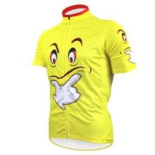 Мыслитель чужой спортивная мужская велоспорт-джерси велоспорт одежда велосипед рубашка размер 2XS в 5XL