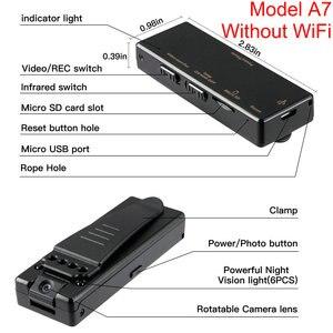 Image 5 - Mini kamera wi fi HD 1080P czujnik noktowizor kamera Motion DVR mikro kamera Sport DV wideo bezprzewodowy mały zacisk do kamery cam