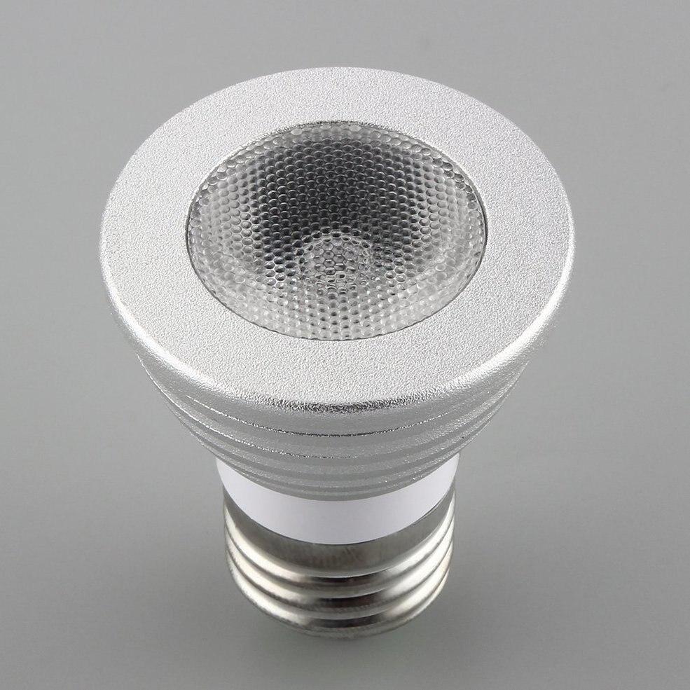 5 pcs 5 w E27 Multi Changement de Couleur RGB LED Ampoule Lampe avec Télécommande