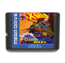 X Men 2 16 Bit Mega Drive Game Card For Sega Genesis Video Game Console