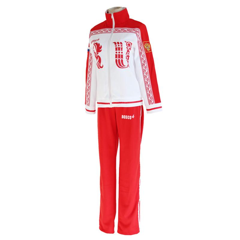 Viktor Cosplay Costume Jacket Coat Daily Sportswear Coat pants New On ice Yuri