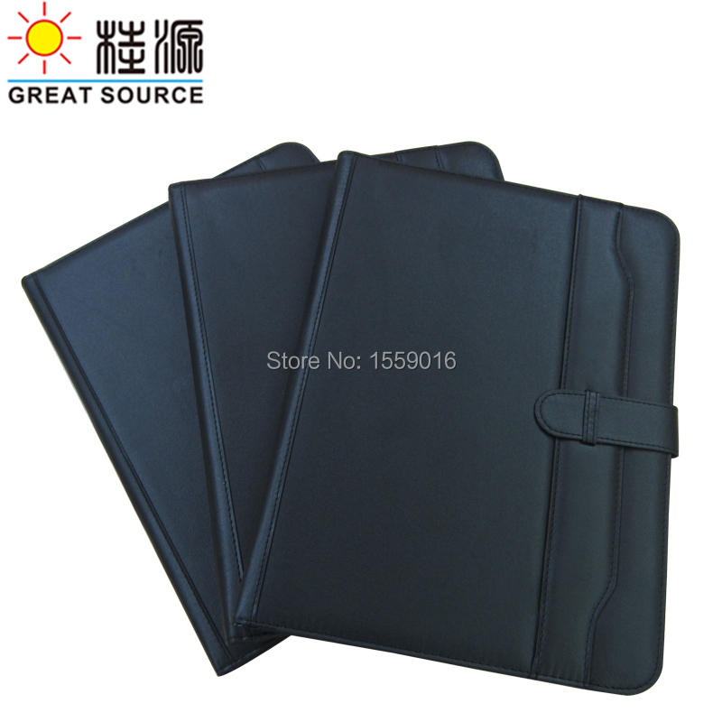 Great Source A4 folder Padfolio multifunction organizer planner notebook A4 file folder with calculator office supplies