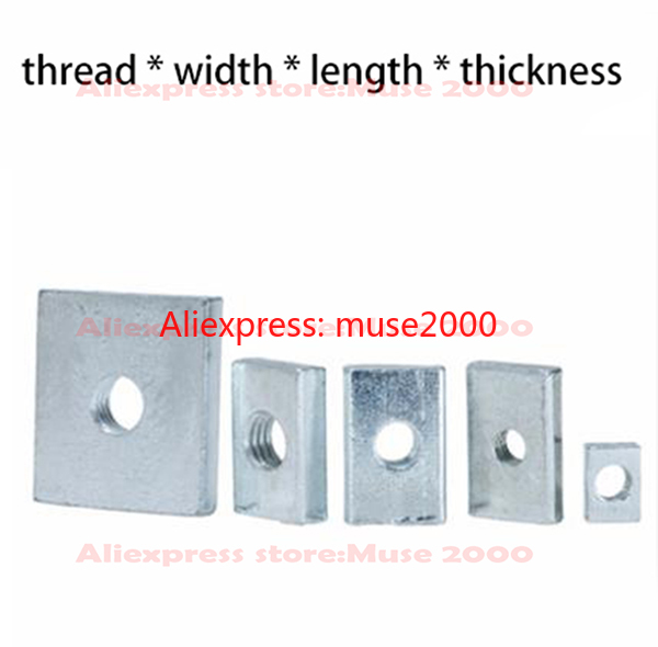 M10 M12 M14 M16 M20 M24 Nyloc Muttern T Typ Feingewinde Verzinkt DIN985