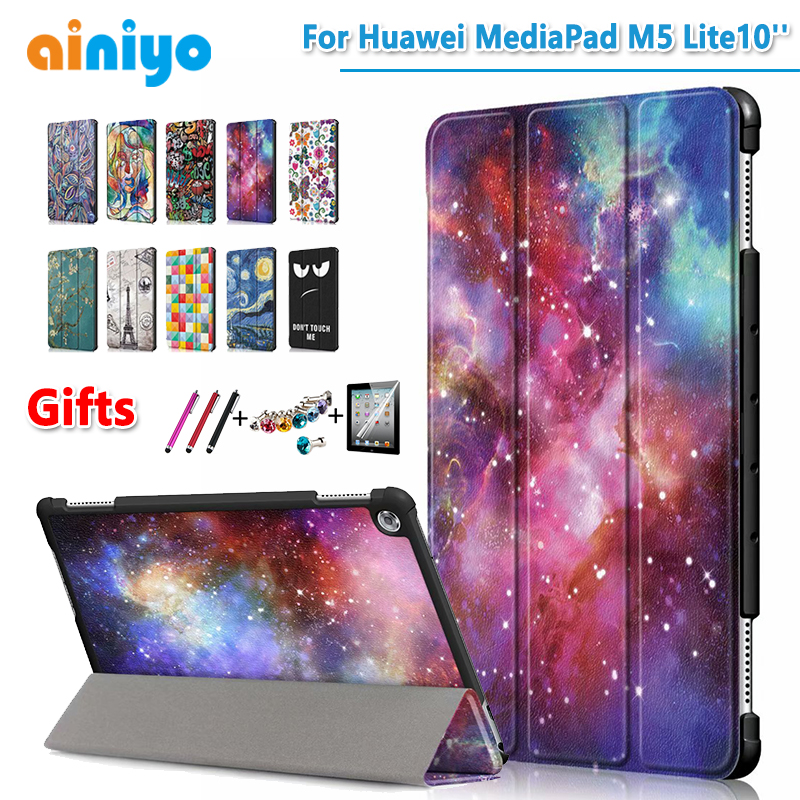 Case For Huawei MediaPad M5 Lite 10'' Protective Cover Case For Huawei BAH2-L09/W19 DL-AL09 10