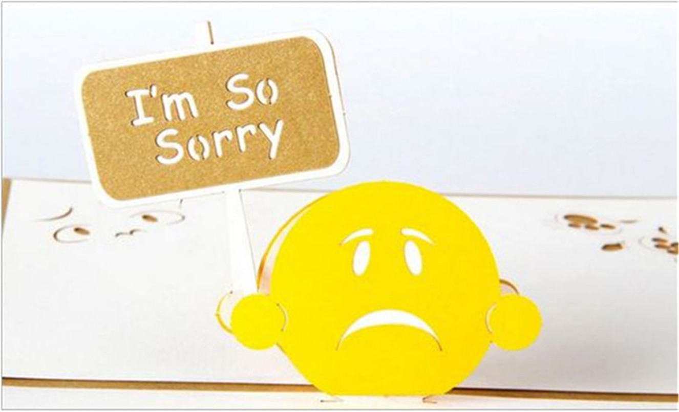 Apology Card Messages standard payslip template oracle solution – Apology Card Messages