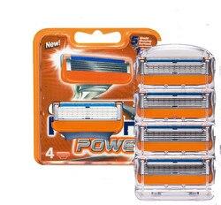 Hight Quality 4 pcs/lot FP Shaving Razor Blades Sharpener Razor Blade For Men shaver blades Sharpener razor Face Clean Tool